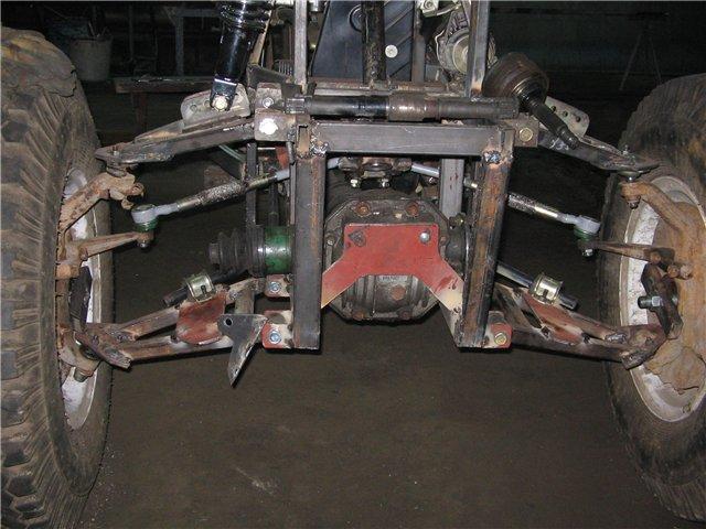 квадроцикл 4х4 на колесах