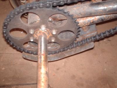 Защита цепи и тормозного диска