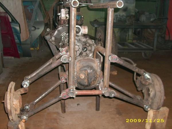 Подвеска и ступицы квадроцикла