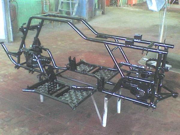 Квадроцикл разобран для покраски
